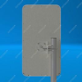 AX-1817PF панельная антенна GSM1800/LTE1800 (17 dBi, 50 Ом)