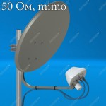 AX-2400 OFFSET MIMO 2x2 4G LTE облучатель для офсетного спутникового рефлектора, Antex