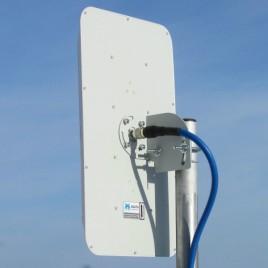 AGATA - широкополосная панельная антенна 2G/3G/4G/WIFI (14-17dBi)), Antex