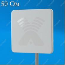 AGATA MIMO 2x2 BOX - RG-45 широкополосная панельная антенна с боксом для модема 4G/3G/2G (15-17 dBi), Antex