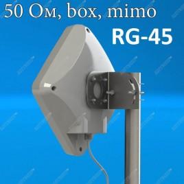 PETRA BB MIMO 2x2 UNIBOX RG-45 - антенна с гермобоксом для 3G/4G модема, Antex