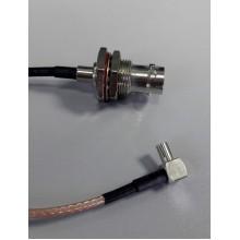 Пигтейл TS9 BNC(female) - 15 см - кабельная сборка