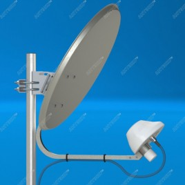 UMO-3 - 4G/3G (LTE1800/DC-HSPA+/LTE2600) офсетный облучатель
