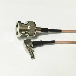 Пигтейл CRC9-BNC(male) - 15 см - кабельная сборка