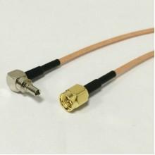 Пигтейл  CRC9-SMA (male) - 15 см - кабельная сборка